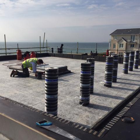 Flat Roof Installation