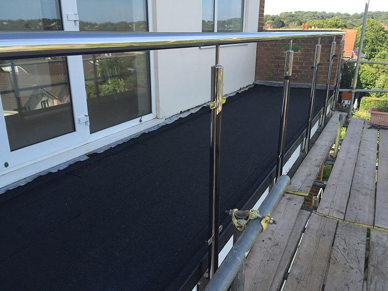 Bituminous Waterproofing Service : Eclipse roofing waterproofing bituminous dorset